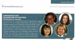 Aesthetic Medicine 2015