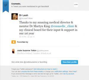 Leah Tweet