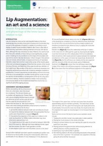Lip Augmentation Art and Science