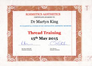 Thread Training, RSM, 15th May 2015.